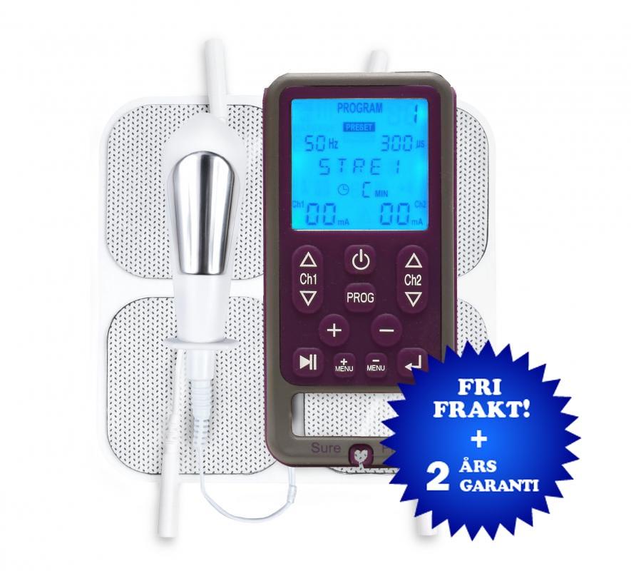 Sure Pro stärkare av bäckenbottenmuskler tens-apparat för professionellt bruk